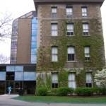 Huntington Hall University Ave Entrance